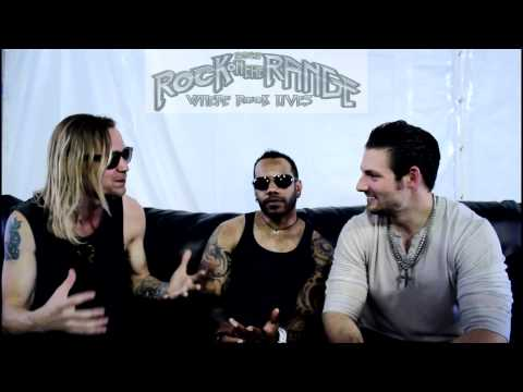 Cavo Interview with Brian Smith and Chris Hobbs at Rock On The Range 2012