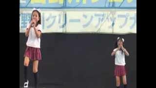 2013.7.28吉野川フェスティバル(徳島)にて 「売れたいエモーション.私...