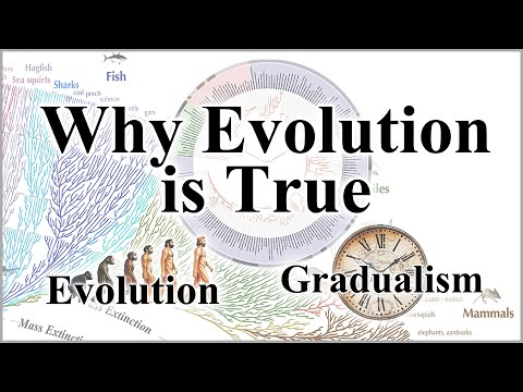 Why Evolution is True - Part 1: Introduction, Evolution & Gradualism
