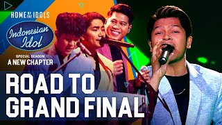 MARK X LALEILMANINO - RAYU (Marion Jola) - ROAD TO GRAND FINAL - Indonesian Idol 2021