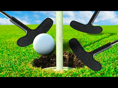 THREE SHOT CHALLENGE! - GOLF WITH FRIENDS
