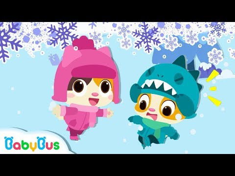 Winter Song  Playground Song  Nursery Rhymes  Kids Songs  Toddler Songs  Baby Cartoon  BabyBus