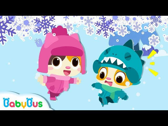 Winter Song   Playground Song   Nursery Rhymes   Kids Songs   Toddler Songs   Baby Cartoon   BabyBus