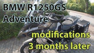 BMW R1250GS Adventure 3 months later