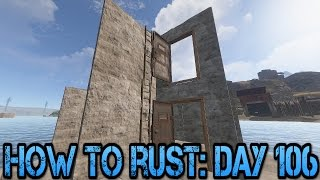 how to rust day 106   dzn s ladder s behind doors