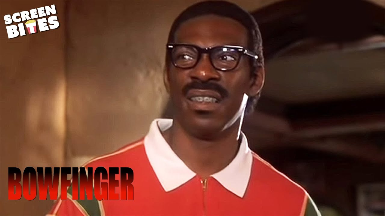 Download Bowfinger: Bowfinger (Steve Martin) holds auditions to replace Kit (Eddie Murphey)