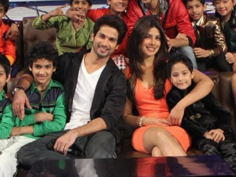 Shahid &Priyanka show thier magic at DID...