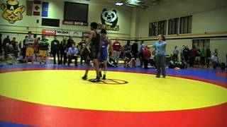 2014 Golden Bear Invitational: 57 kg Dave Sharma vs. Ian Leynes