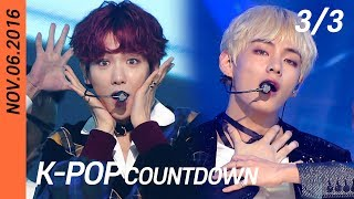 [FULL] SBS K-POP Countdown (3/3) | EP887 (20161106) | EXO-CBX, BTS, BLACKPINK, TWICE