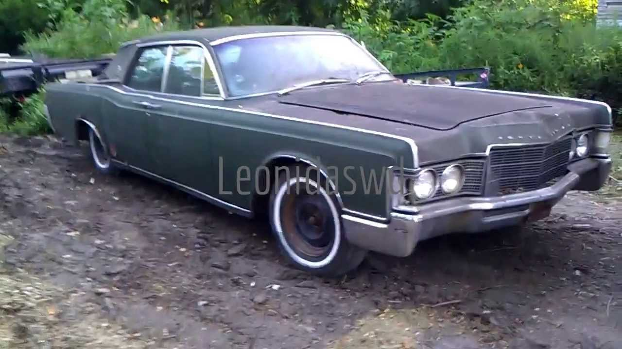 1969 Lincoln Continental 460 Suicide Doors - YouTube