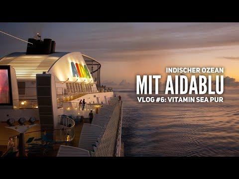 AIDA Vlog #6: Seetage auf dem Weg zu den Seychellen