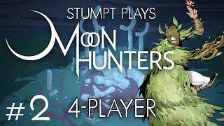 Moon Hunters - #2 - Baby Rik! (4 Player Moon Hunters Gameplay)