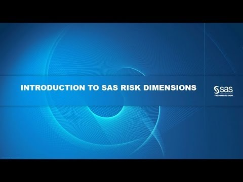 Introduction to SAS Risk Dimensions