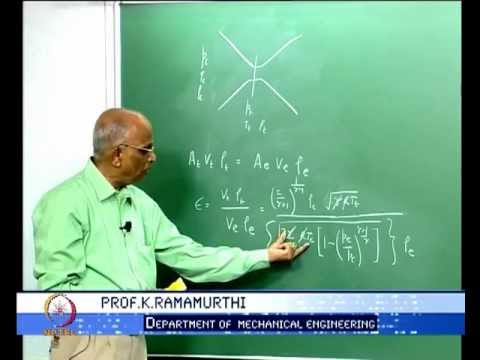 Mod-01 Lec-11 Area Ratio of Nozzles:Under-expansion and Over-expansion