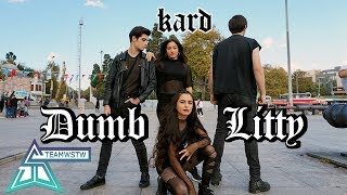 [KPOP IN PUBLIC TURKEY] KARD - Dumb Litty  Dance Cover [TEAMWSTW]