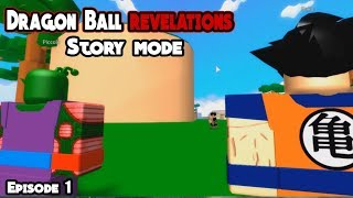 Story Mode Is Crazy Good! Dragon Ball Revelations Ep. 1 (Roblox)