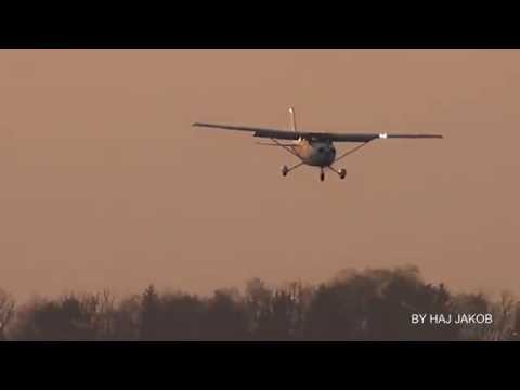 Cessna 172 Skyhawk touch an go´s at Hannover Airport