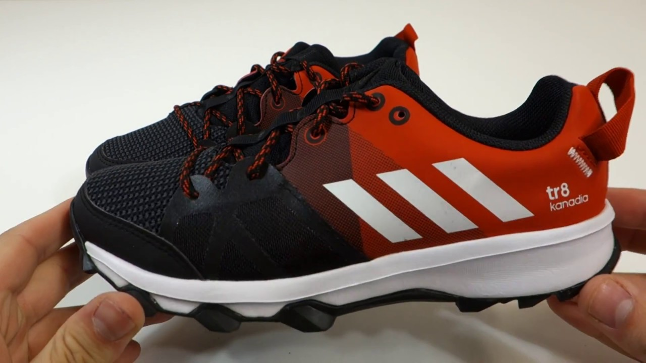 Dětské sportovní outdoorové boty adidas kanadia 8 k - YouTube a00075d30e