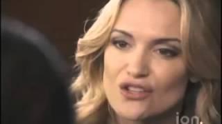 Christina DeRosa in Christmas Twister Movie Second Scene
