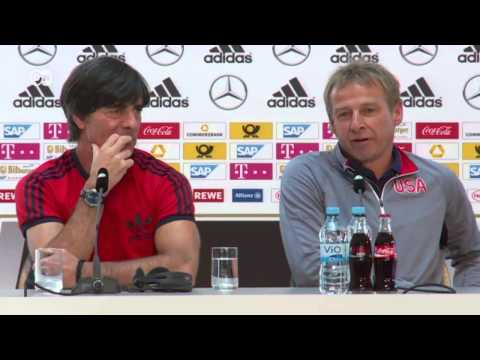 Löw and Klinsmann: Two friends on opposite sides