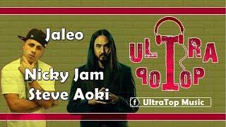 Jaleo - Nicky Jam & Steve Aoki | LETRA | AUDIO Video