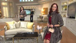G.I.L.I. Pebbled Leather Convertible Micro Bag with Lisa Robertson