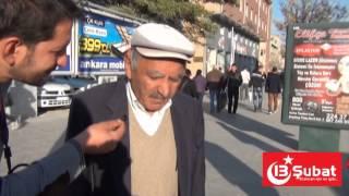 13 Şubat Gazetesi Erzincan Halk Röportajları
