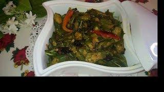 ঢেড়ঁশ ভাজি| Okra fry | Bhindi vaji | Lady