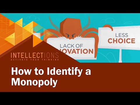 Identifying A Monopoly: It