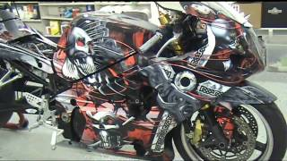 auto trim design apex diablo motorcycle wrap kit