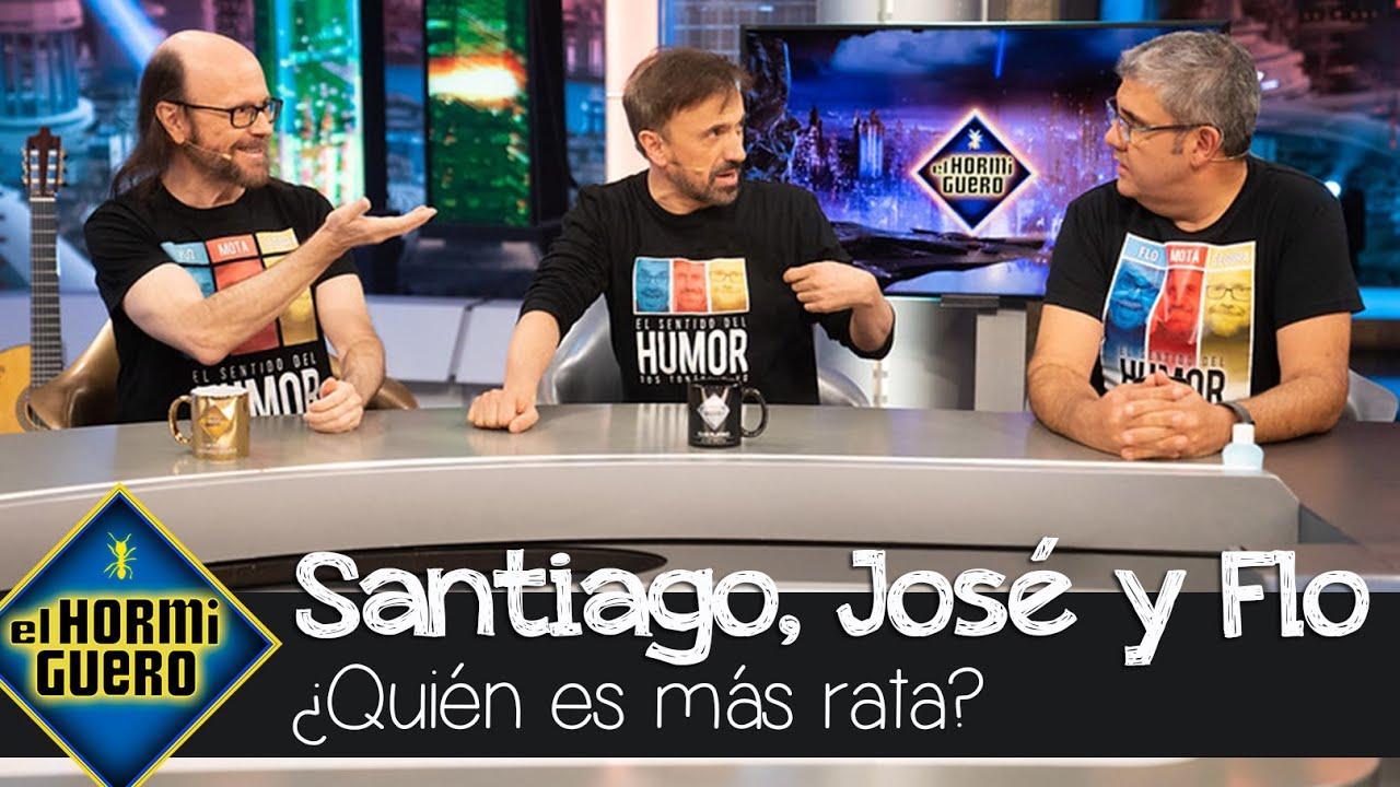 Santiago Segura, José Mota y Florentino Fernández ¿Quién es más rata de los tres? - El Hormiguero