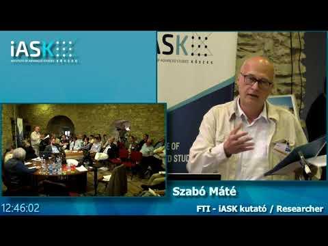 Máté Szabó - Hankiss's relation to the politics and the political science - Hankiss C.