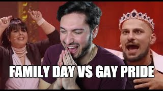 CIAO DARWIN 8: FAMILY DAY VS GAY PRIDE | ANTHONY IPANT'S