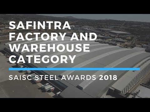 Safintra Factory and Warehouse Category - Steel Awards 2018
