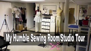 Sewing Room Studio Tour  Beautycutright