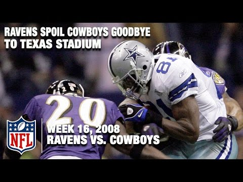 Ravens vs. Cowboys (Wk 16, 2008) | Final Game at Texas Stadium | Classic Game Highlights | NFL