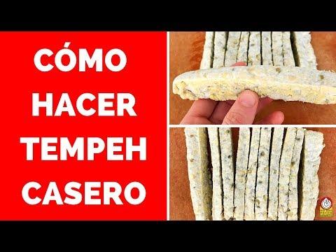 Cómo hacer TEMPEH CASERO