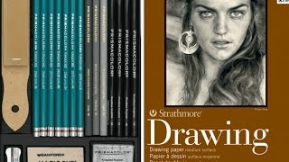 Drawing Materials I use - Best Graphite Pencils and Papers for Artists