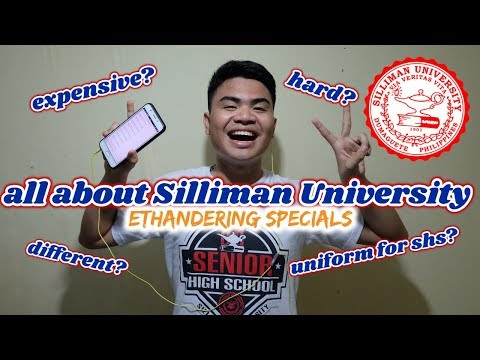 Answering Questions About Silliman University Senior High School | Ethandering Specials