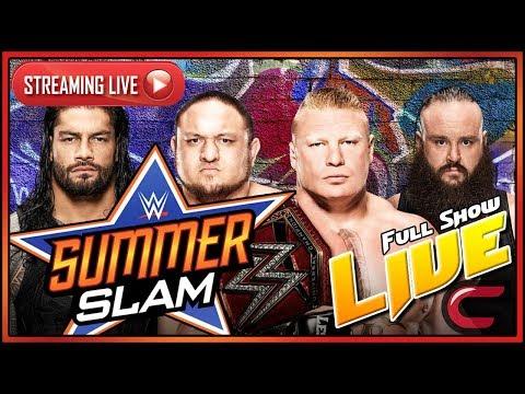 WWE Summerslam 2017 Live Full Show August...
