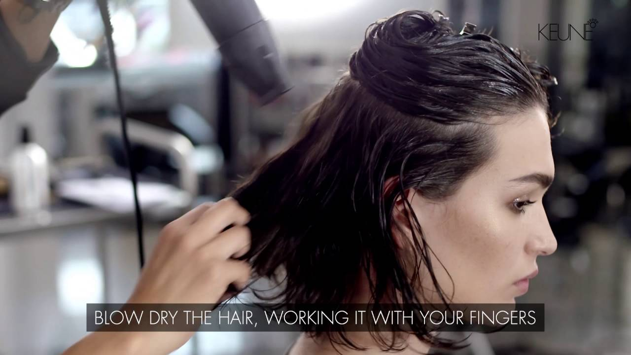 Keune Design Fundamentals How To Create The Tousled Tomboy Hairstyle