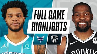 HORNETS at NETS | FULL GAME HIGHLIGHTS | April 16, 2021