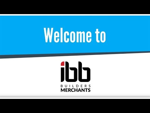 Welcome to IBB Builders Merchants