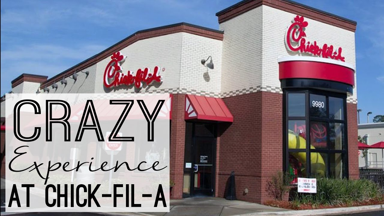 crazy experience at chick fil a 12 days of christmas