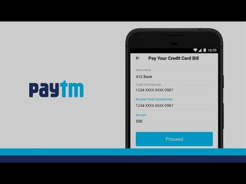 Steps To Pay Credit Card Bill Using Paytm App