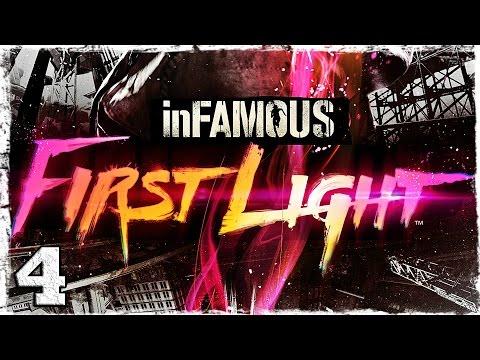 Смотреть прохождение игры [PS4] Infamous: First Light. #4: Цена спасения.