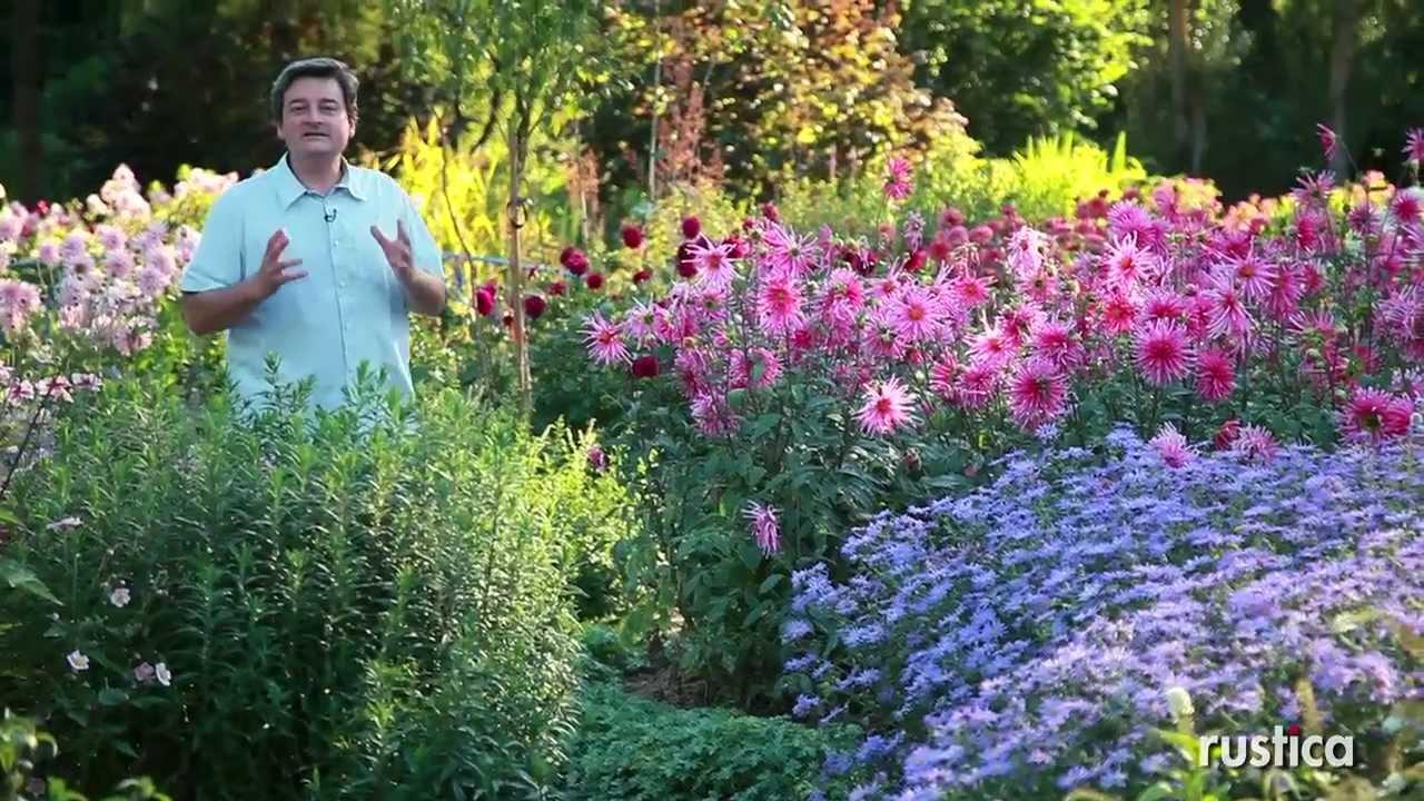 D corer un jardin les dahlias youtube Decorer un jardin