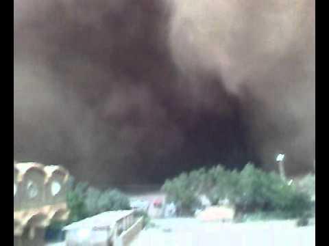 sandstorms in Sudan