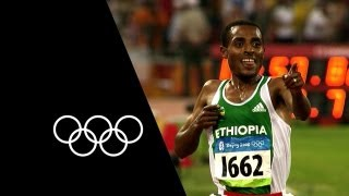 2 Races, 2 Records, 1 Athlete - Kenenisa Bekele | Olympic Records