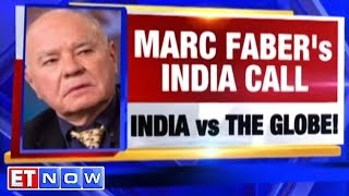 Marc Faber Betting On India For Long Term   ET NOW Exclusive Interview